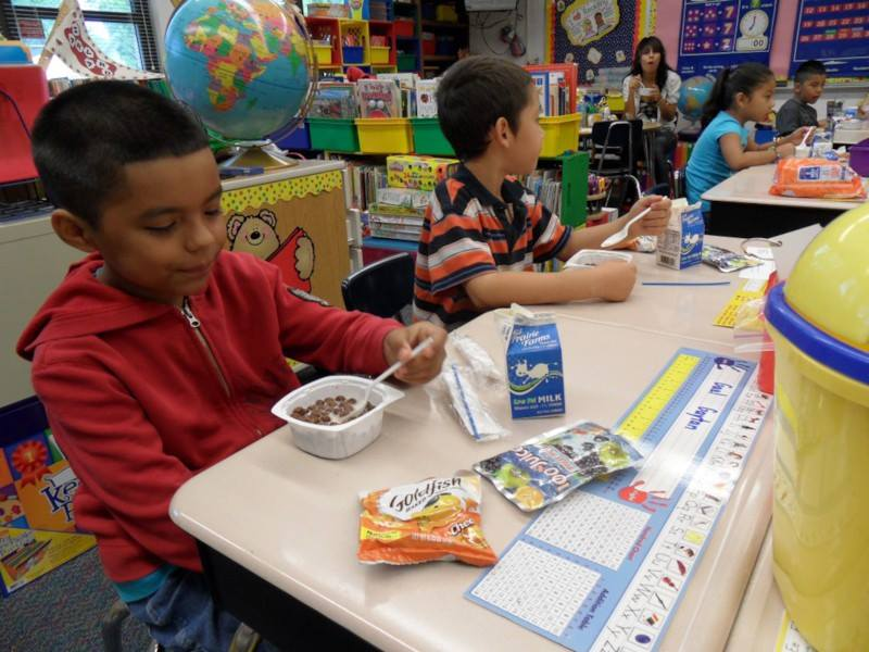 School breakfast grows to boost learning, attendance BreakfastInClassroom