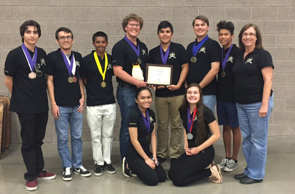 Cibola High School Academic Decathlon Team