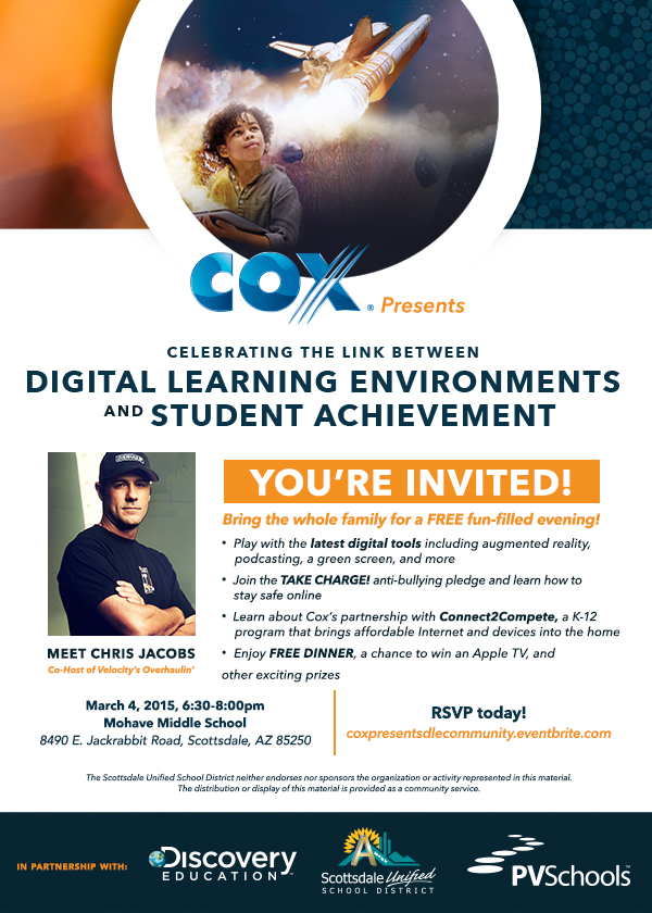 Free event focuses on digital learning environments and student achievement CoxDigitalLearningEnvironments