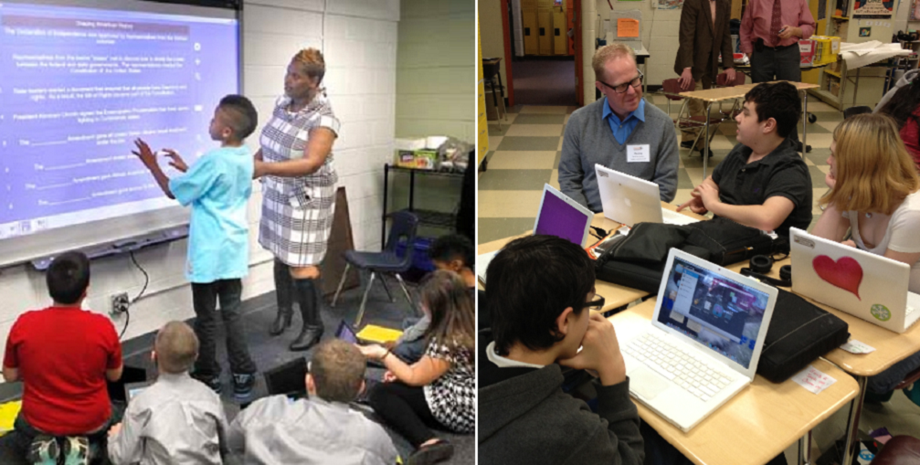 Littleton students show how technology enhances learning during tours DigitalLearningDayHP