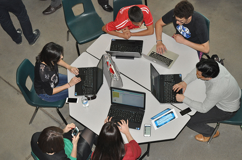 Phoenix Union hosts Hour of Code for students, community leaders HourofCode2Inside