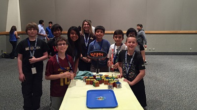 Chaparral Rubik's Cube Team competes in regional competition Rubiksmain400