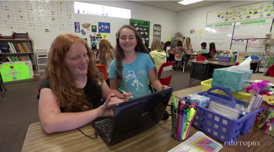 Student choice, data use earn national acclaim for rural Arizona school StudentsTutoring