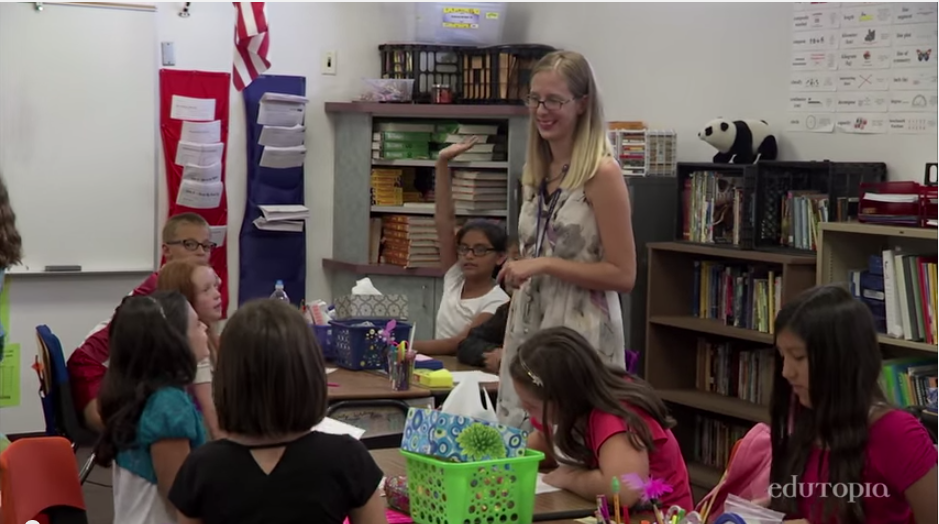 Student choice, data use earn national acclaim for rural Arizona school TeacherWithStudents