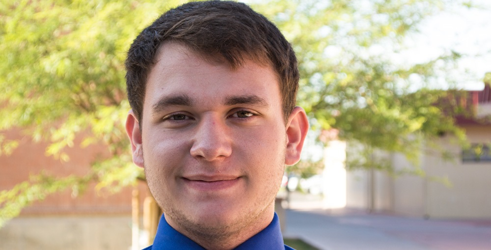 Two Yuma students selected for ASU Leadership Program CurtisPeterson