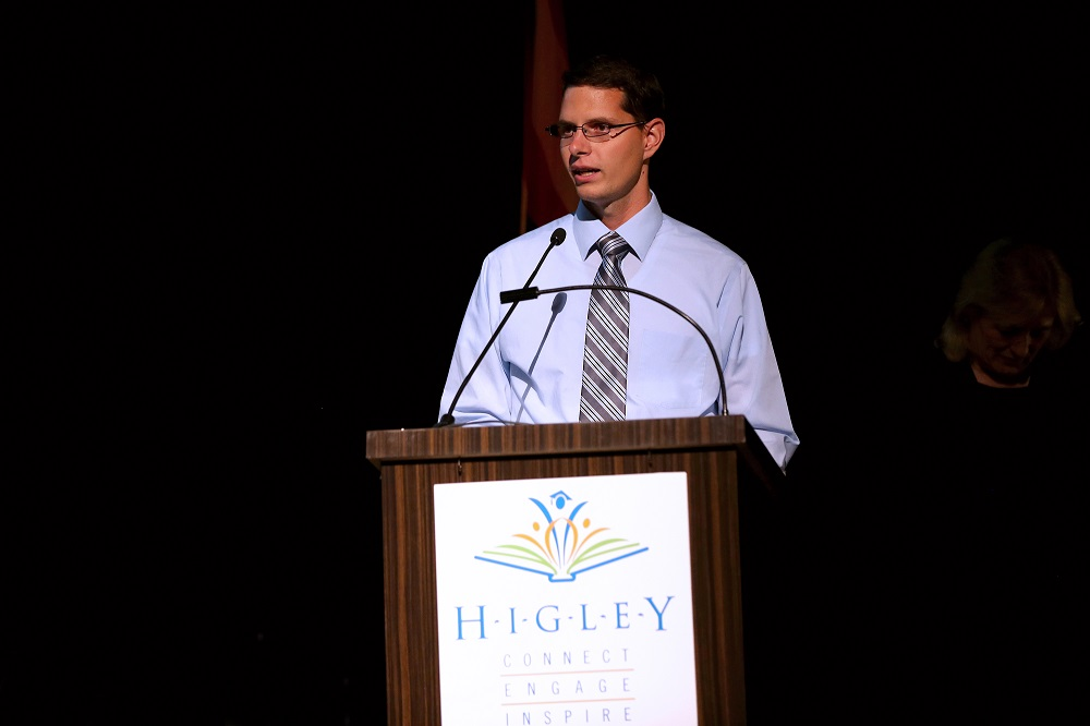 Higley High teacher selected as district Teacher of the Year Shawn-Cook-Inside