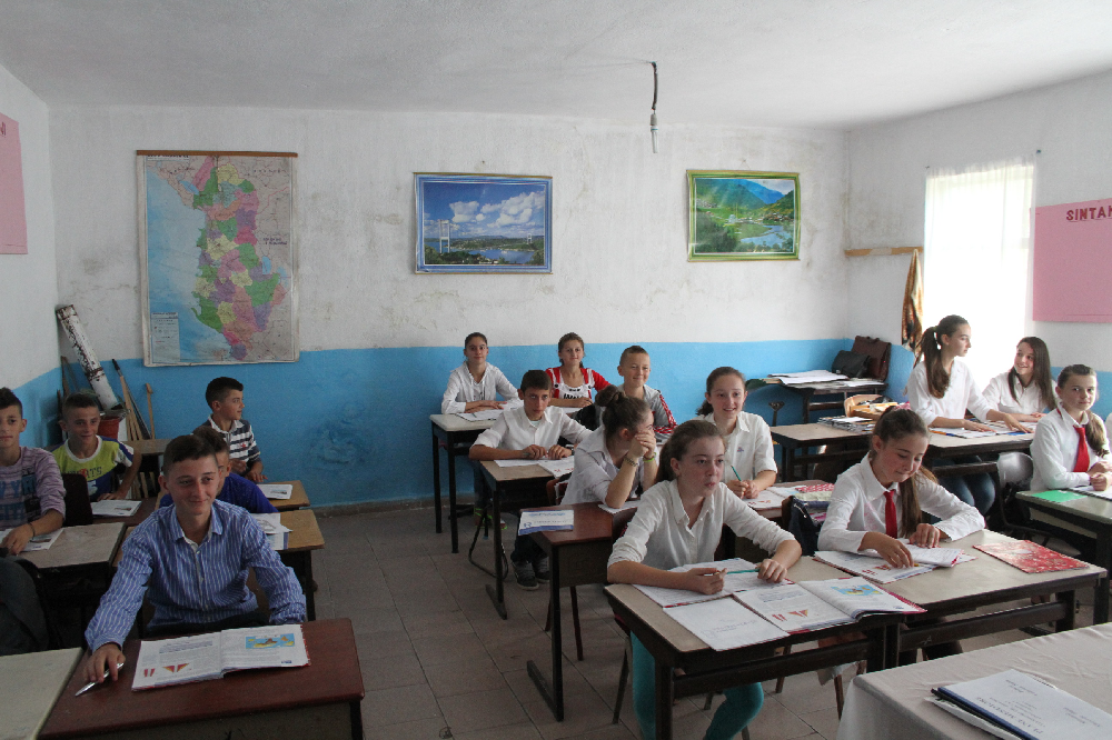 ASU report outlines green schools plan for Albania AlbanianClassroom