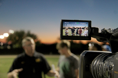 High school students experience sports broadcasting at ASU camp BroadcastingCameraView