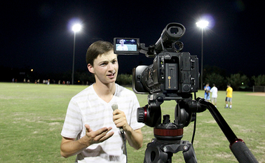 High school students experience sports broadcasting at ASU camp BroadcastingSummerCampInside