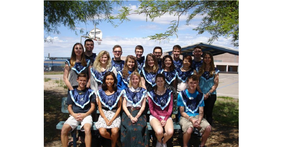 Cactus Shadows High School's International Baccalaureate Class Of 2015 Received A 100 Percent IB Diploma Rate. Photo Courtesy Of Cave Creek Unified School District