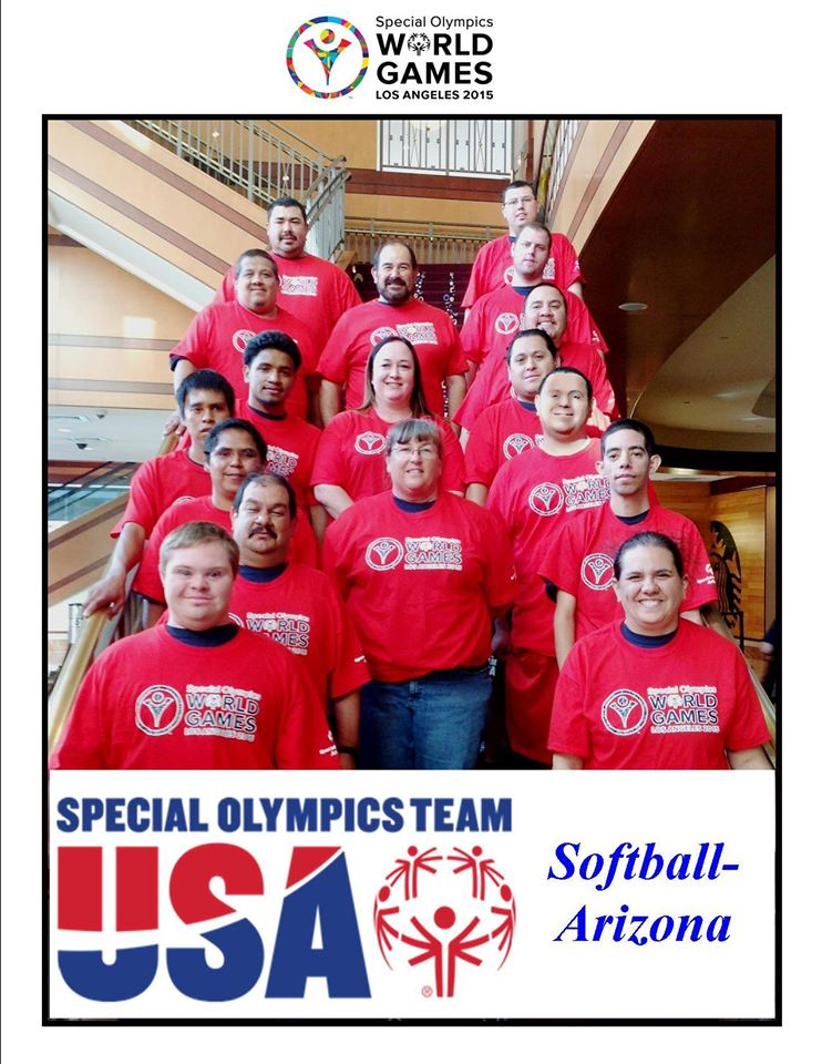 Phoenix Union employee coaches at Special Olympics Summer Games TeamUSA-Training-Camp
