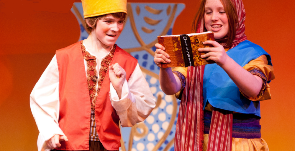 """Be Part Of The Magic With Missoula Children's Theatre's """"ALADDIN,"""" August 17 Through 22, At The Cactus Shadows Fine Arts Center. Students, Grades K Through 12, Can Join The Cast By Participating In The Education & Community Services (CCUSD) Theater Residency And Everyone Is Invited To Attend The Public Performance At 7pm On Saturday, August 22, At The Cactus Shadows Fine Arts Center. For More Information, Call 480-575-2440. Photo Courtesy Of Missoula Children's Theatre."""