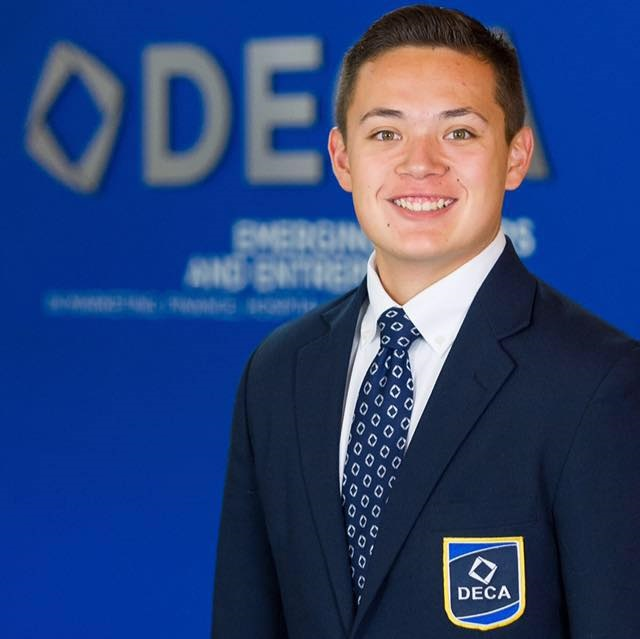 Peoria graduate named 2015-16 international DECA executive president Alec-RomeroInside