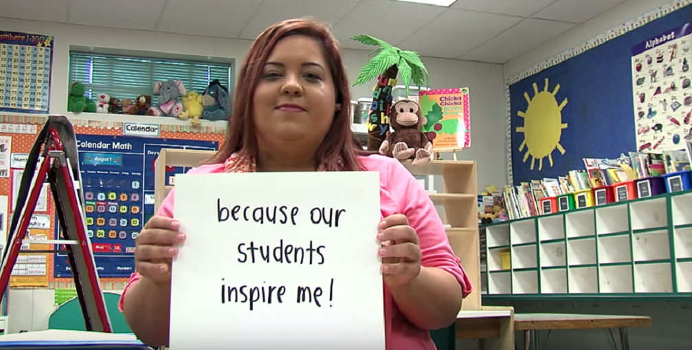 An Educational Assistant At Alhambra School District Describes Why She's Going To College To Become A Teacher In The Everyone Matters Video Created By District Employees Mishell Terry And Lindsay Pfingstag.
