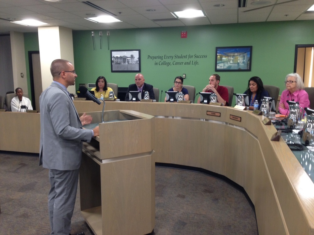 Gestson named interim superintendent of Phoenix Union DrChadGestsonBoard