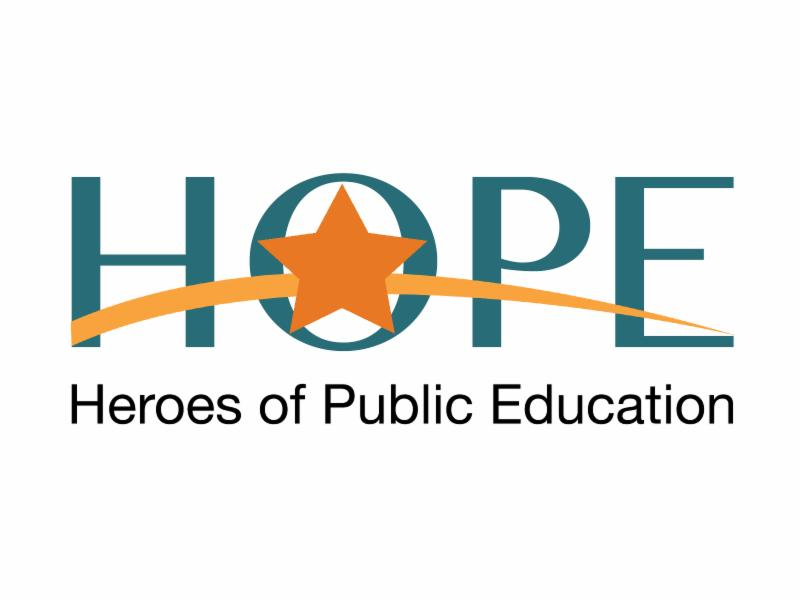 ASBA launches statewide Heroes of Public Education campaign HOPELogo