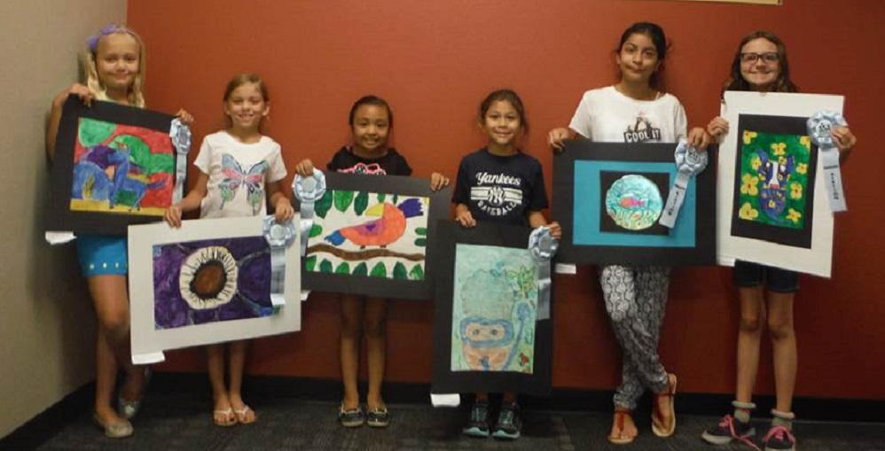 Students From Power Ranch Elementary School In The Higley Unified School District Entered The Arizona Department Of Education's Leading Change Art Contest Over The Summer. All Were Honored With Honorable Mention Ribbons.