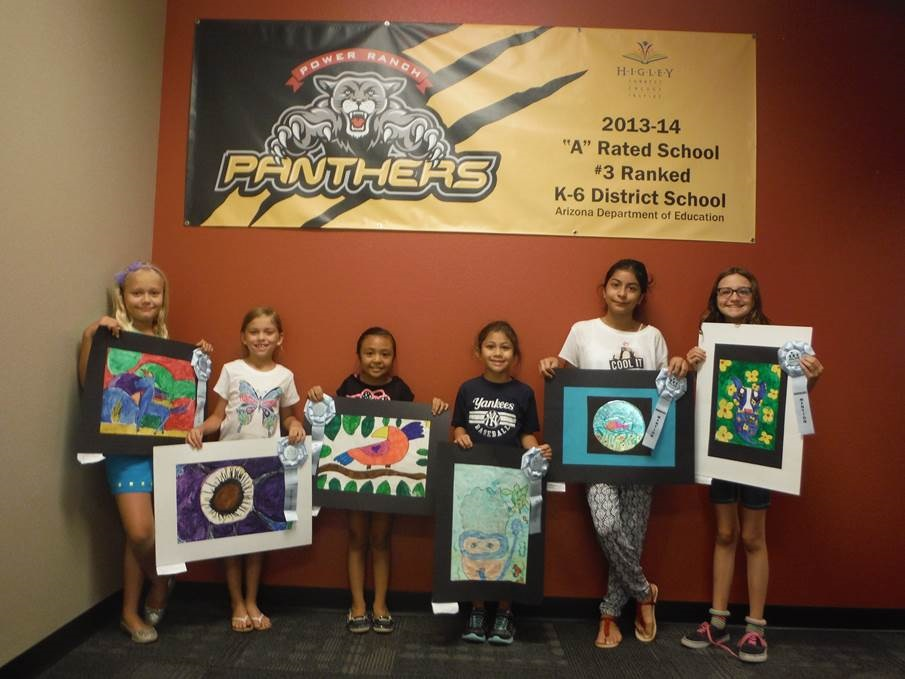 Power Ranch art students earn state recognition Power-Ranch-Art-Student-WinnersInside