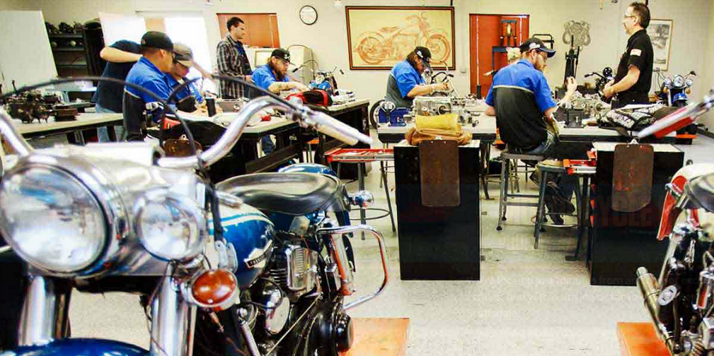 2 Universal Technical Institute campuses in AZ named Schools of Excellence UTIMotorcycleMechanicsInstitutePhoenixSmaller