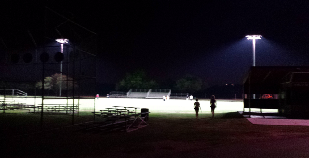 Tanque Verde High School Debuts New State-of-the-art LED Field Lighting. Photo Courtesy Tanque Verde Unified School District