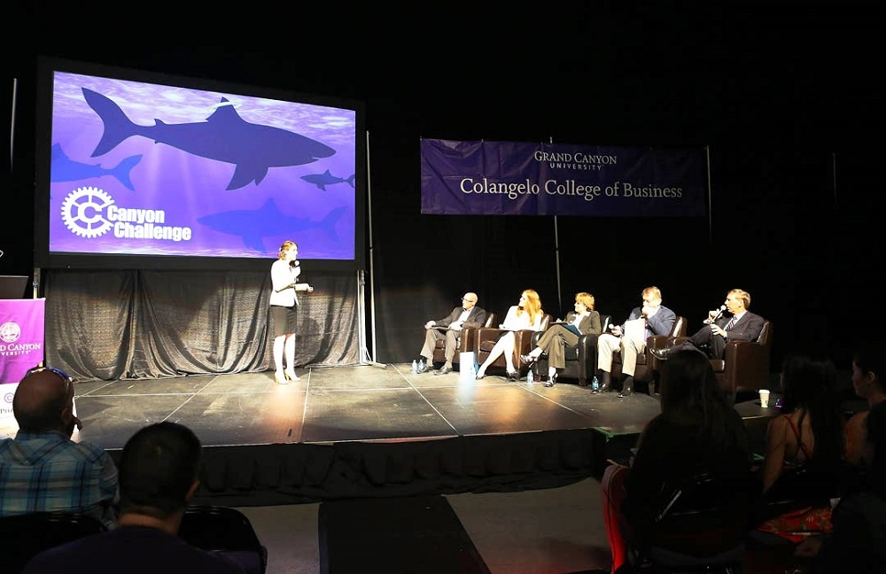 Canyon Angels to fund start-ups, provide hands-on learning to GCU students Canyon-Challenge-photo