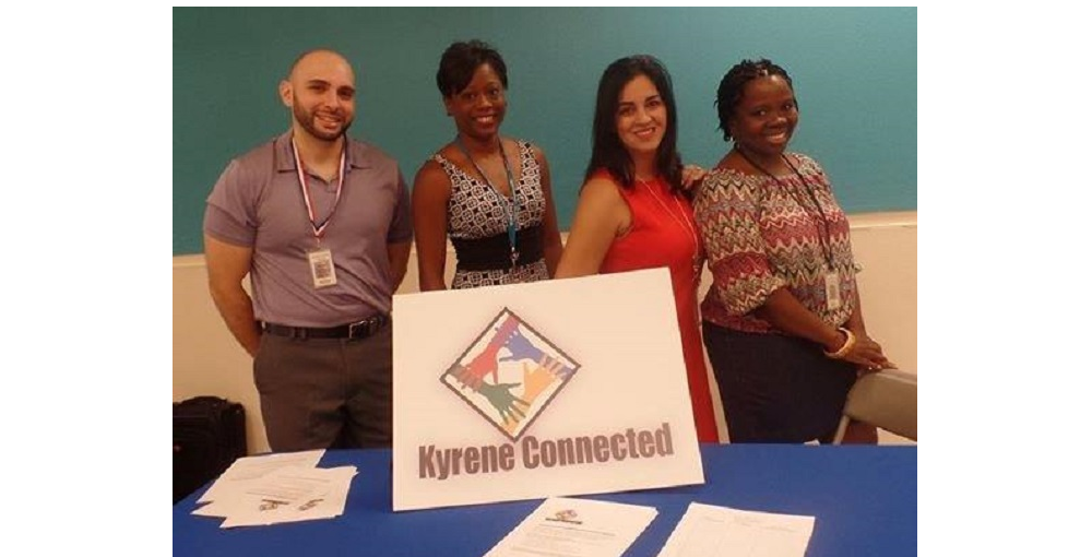 Members Of The Kyrene Connected Group, Which Helps To Support New Teachers Of Color In Kyrene Elementary School District. Dr. Adama Sallu Ed.D, The District's Assistant Director Of Equity Is On The Right. Photo Courtesy Kyrene School District