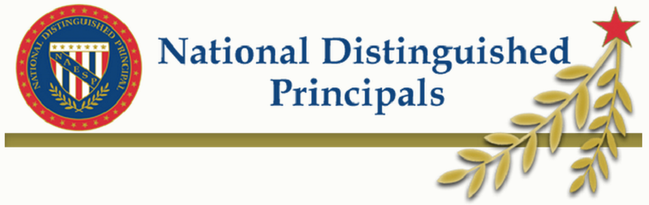 Corte Sierra principal honored a 2015 National Distinguished Principal NationalDistinguishedPrincipalsLogo300