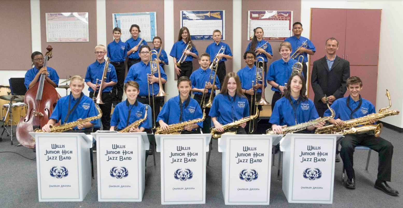 Chandler Unified junior high jazz band to perform at international conference Willis-Junior-High-Jazz-Band