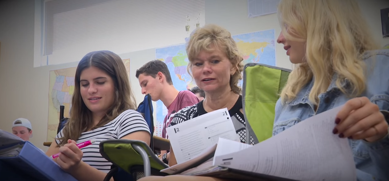 AZ Teacher of the Year: Changing the world one student at a time ChristineMarshWithStudents4