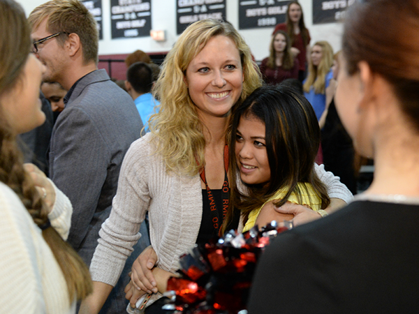 Two Arizona teachers honored with Milken Educator Awards NickiDerryberryAndStudent