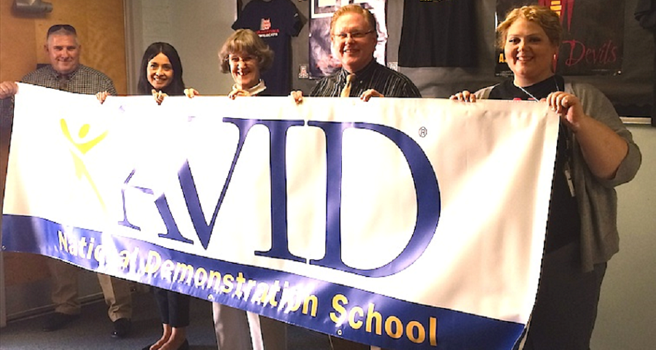 For The Second Time, Woodard Junior High School Has Been Awarded Elite Status As An AVID National Demonstration School After A Rigorous Inspection By A National Visitation Team. Demonstration School Status Places Woodard In The Top 2% Of The 5,400 AVID (Advancement Via Individual Determination) Schools Nationally And World-wide. Photo Courtesy Yuma School District One