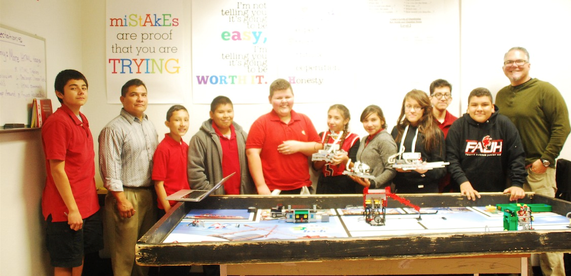 Yuma students take on robotics, recycling at competition FourthAveRoboticsRecyclingInside