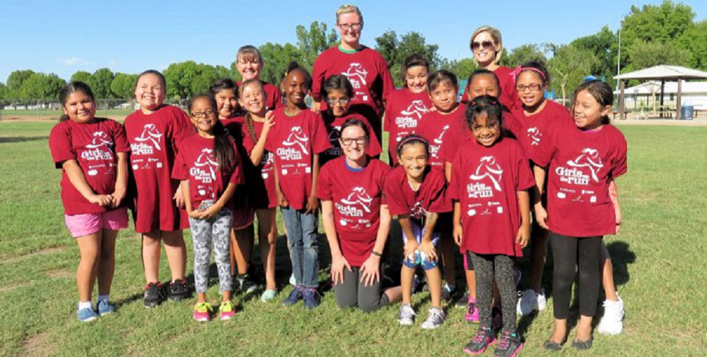 Students Who Participate In Girls On The Run At Lowell Elementary In The Mesa Public School District. Photo Courtesy Of Mesa Public Schools