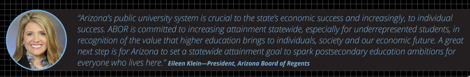 More college degree holders could double Arizona's economic growth EileenKleinQuote