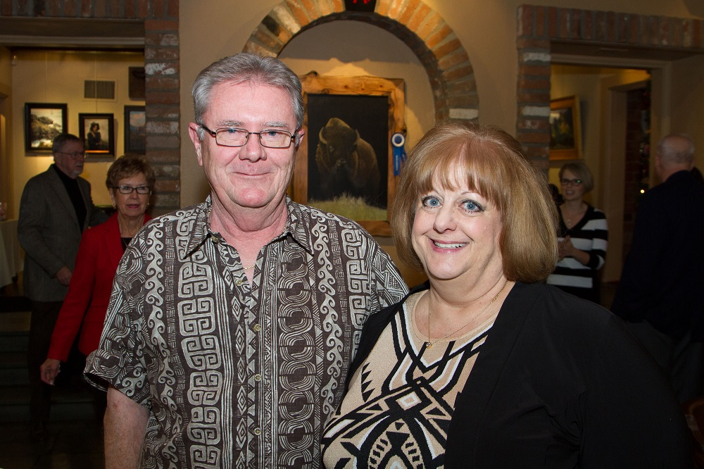 Tucson teachers honored with Excellence in Economics Education Award Freeman-and-Gale-Mitchell-photo-credit-Tom-Veneklasen