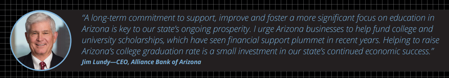 More college degree holders could double Arizona's economic growth JimLundyQuote