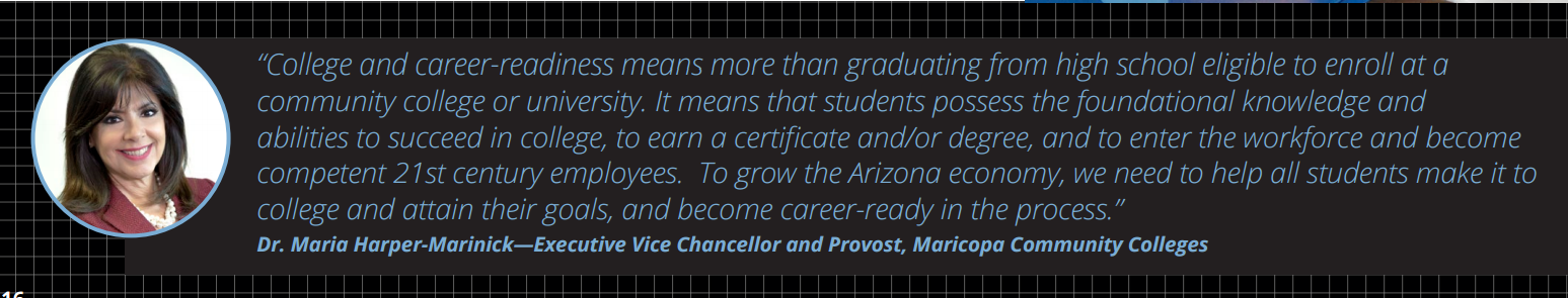 More college degree holders could double Arizona's economic growth MariaHarperMarinick