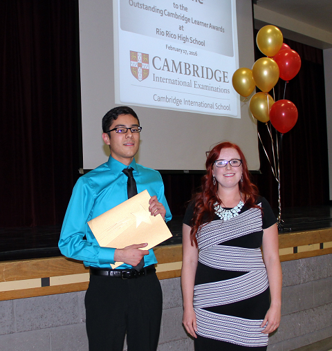 Rio Rico students earn Outstanding Cambridge Learner Awards 480x2424