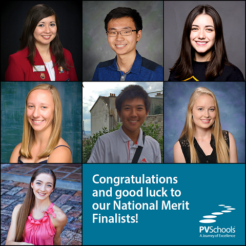 PVSchools Students Named National Merit Finalists 480x480