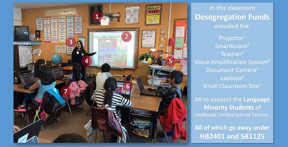 What Desegregation Funding Pays For In This Holbrook Unified School District Classroom. Photo Courtesy Holbrook Unified School District