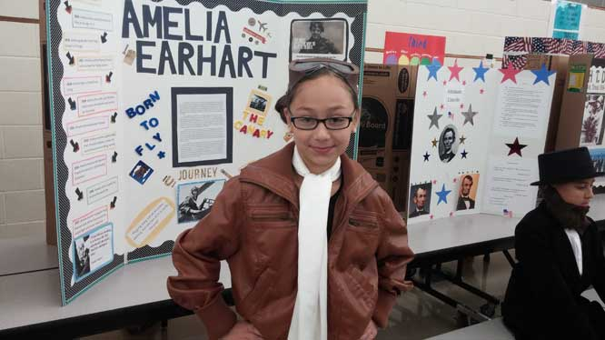 Coyote Hills Elementary makes history come alive Living-History-II
