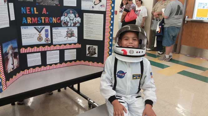 Coyote Hills Elementary makes history come alive Living-Museum