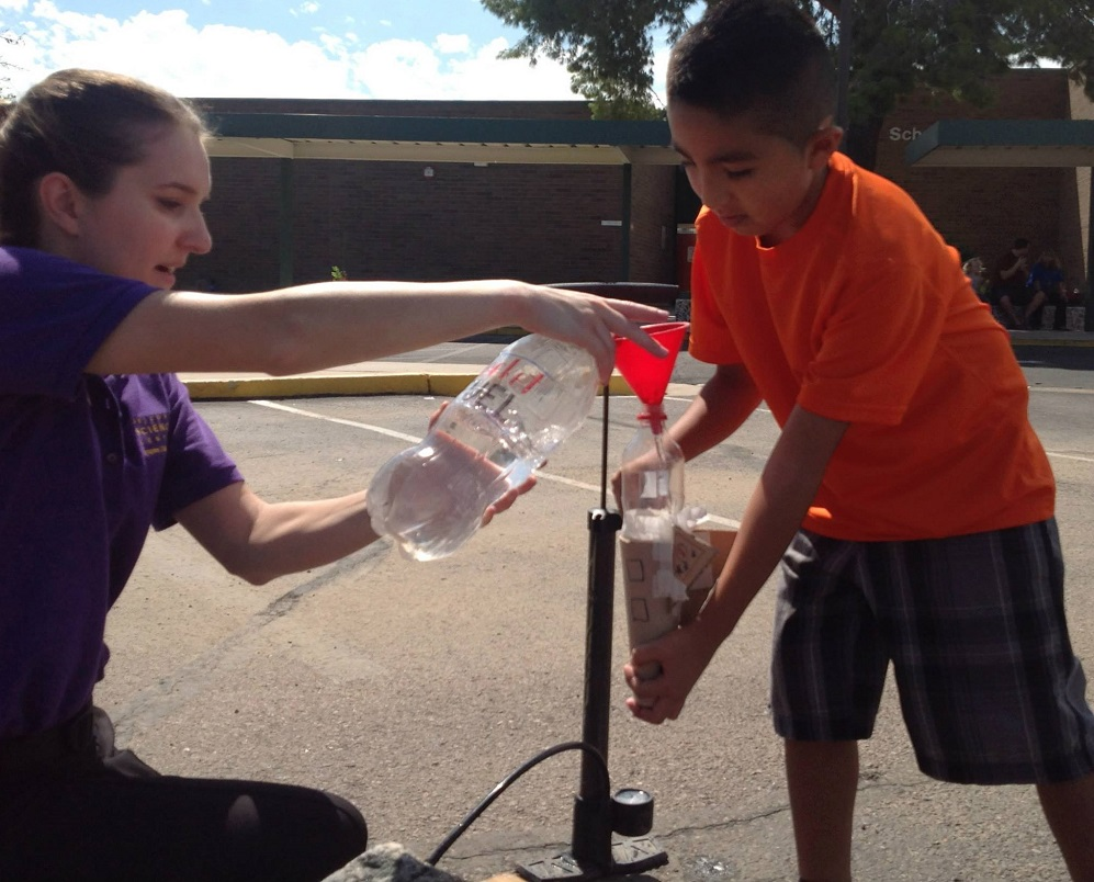 Arizona Science Center, Desert Shadows team up for STEAM Extravaganza TeacherStudentScienceExperiment