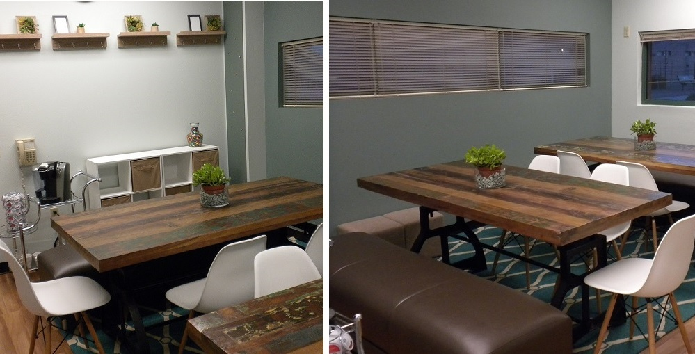 The School Lounge At Santan Elementary School Received A Makeover Courtesy Of California Casualty. Photos Courtesy Of Mark Goldberg/California Casualty
