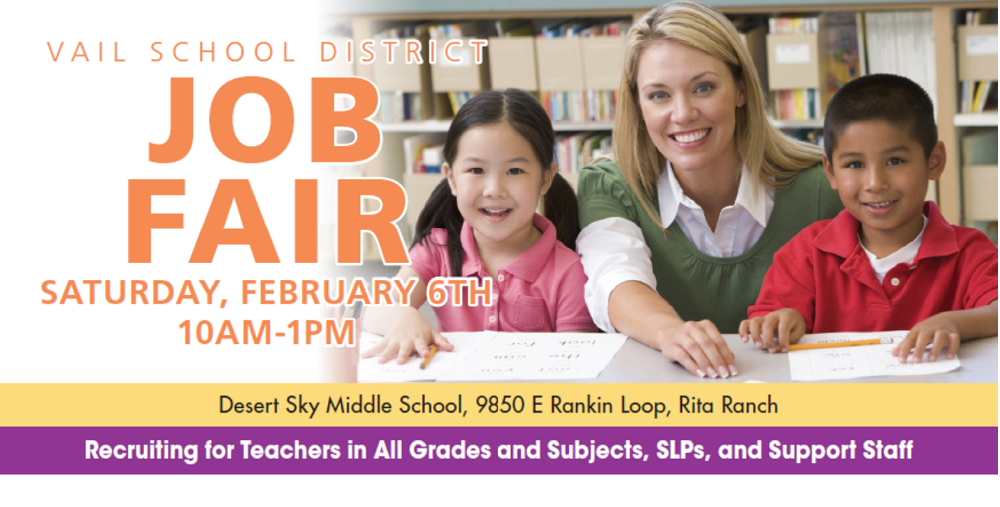 Vail School District Job Fair