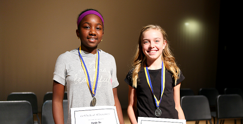 Sossaman, Cortina students top Higley Spelling Bee spellin-bee-winners-480x242