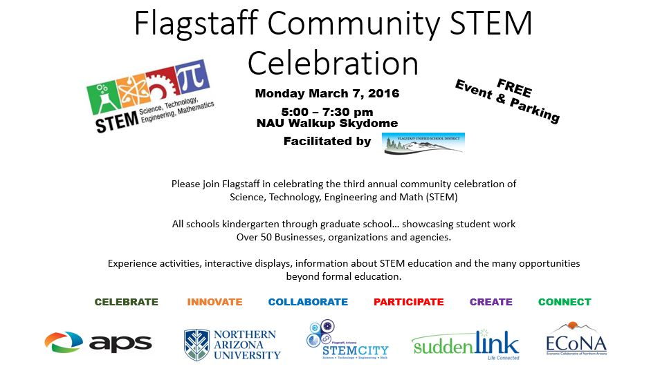 Flagstaff Community STEM Celebration 2016-Flagstaff-Community-STEM-Celebration-Flyer