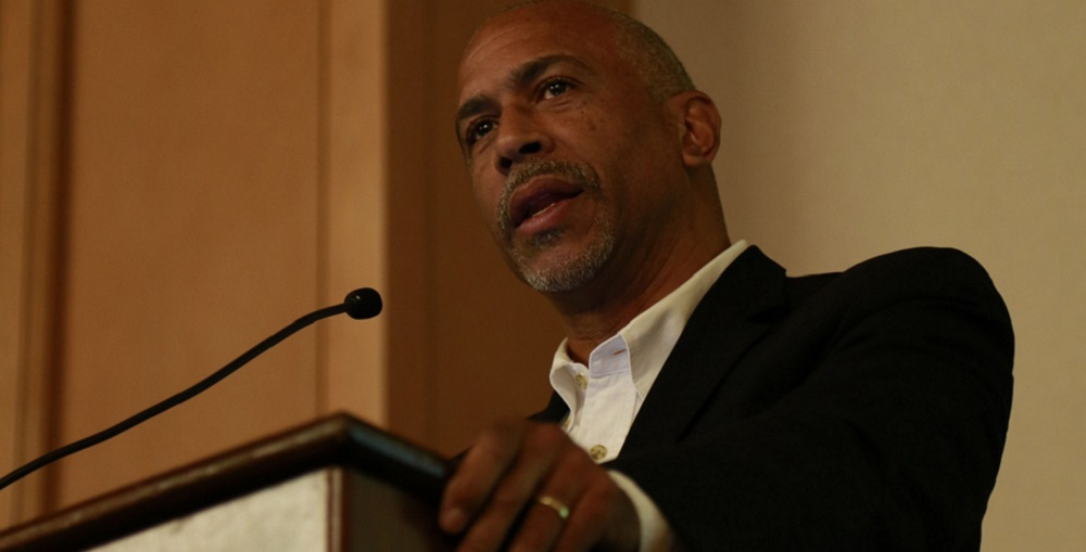 Dr. Pedro Noguera, Distinguished Professor Of Education At University Of California – Los Angeles, Spoke About Achieving Excellence Through Equity And Its Principles And Practices At The Equity Event March 10 In Phoenix. Photo Courtesy Mike Barcia/ASBA
