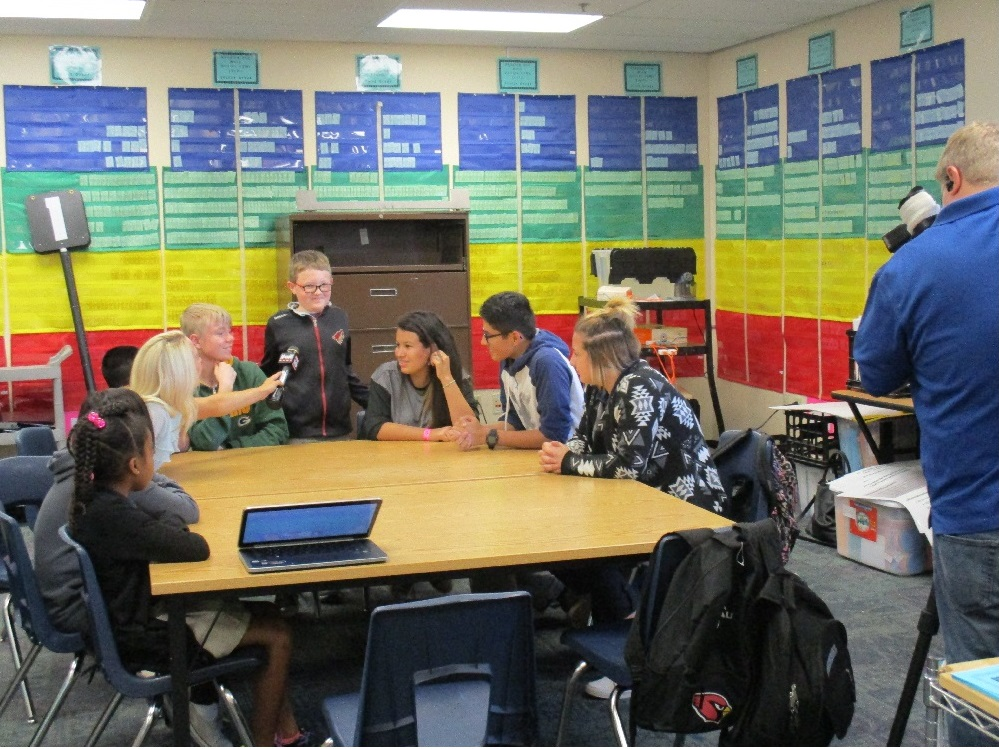 Laveen Students React to GOP Debate LaveenStudentsOnPresidentialDebate