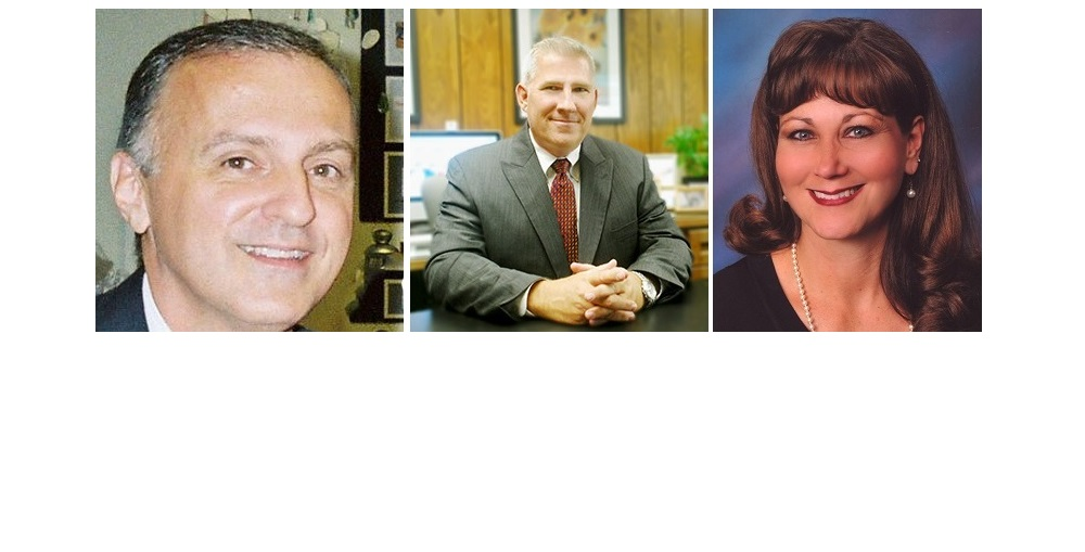 Finalists For Peoria Unified School District's Superintendent Position Are Dr. Warren Shillingburg, Left, Dr. Darwin Stiffler, Center, And Dr. Heather Cruz, Right.
